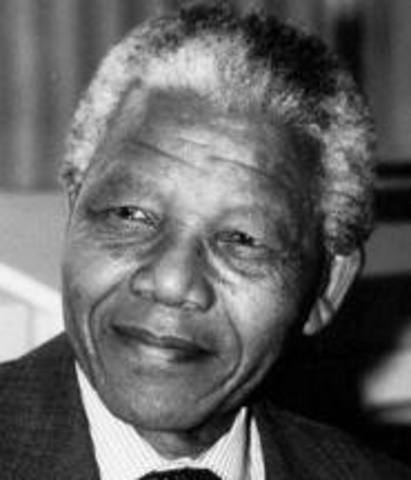 NELSON MANDELA FUE LIBERADO