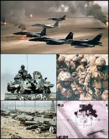 INVACION A KUWAIT POR IRAK