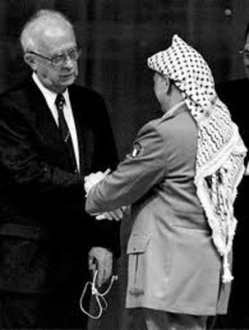 PAZ ENTRE ISRAEL Y LA OLP