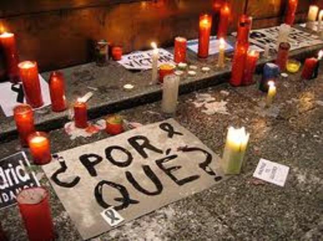 ATENTADO TERRORISTA EN MADRID