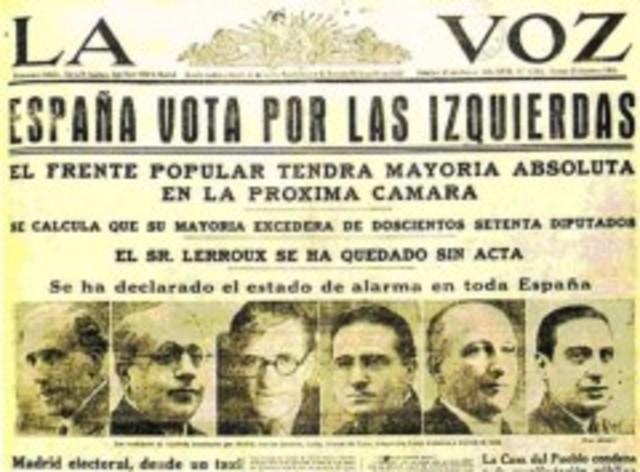 Frente Popular gana elecciones