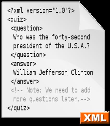 creacion de xml('lenguaje de marcas extensible')