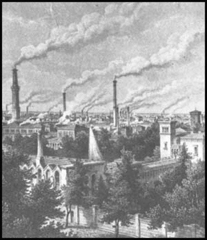 Comienzo de la Revolución Industrial en Gran Bretaña