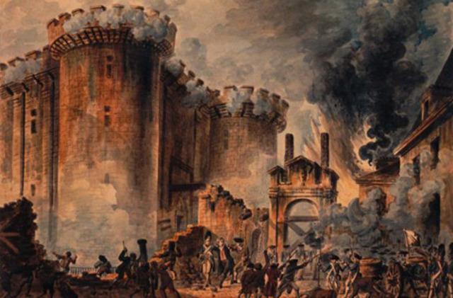 Ataque a la fortaleza de la Bastilla