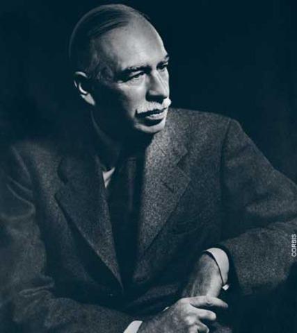 Ideas de Keynes se llevaron a cabo