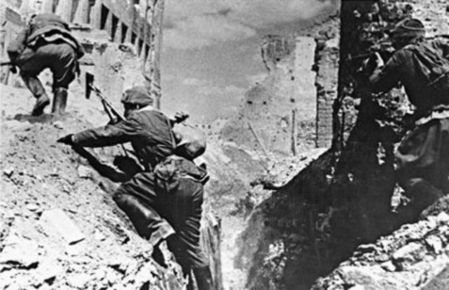 Derrota alemanaen la batalla de Stalingrado