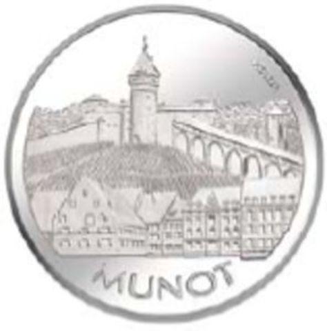 Schaffhausen empieza a acuñar sus propias monedas.