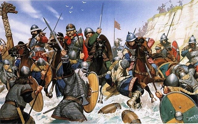 Anglo-Saxões, Vikings e Normandos