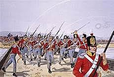 As tropas de Napoleão
