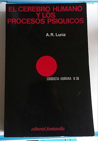 """Publicación del libro """"el cerebro humano"""" de Luria"""
