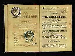 Primer código de comercio en México.