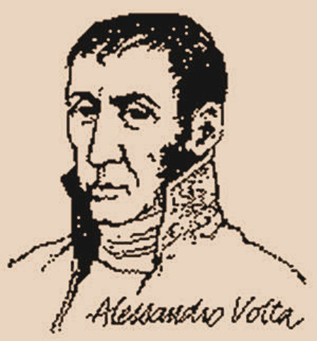 alessandro volta was appointed proffeser of phiscas