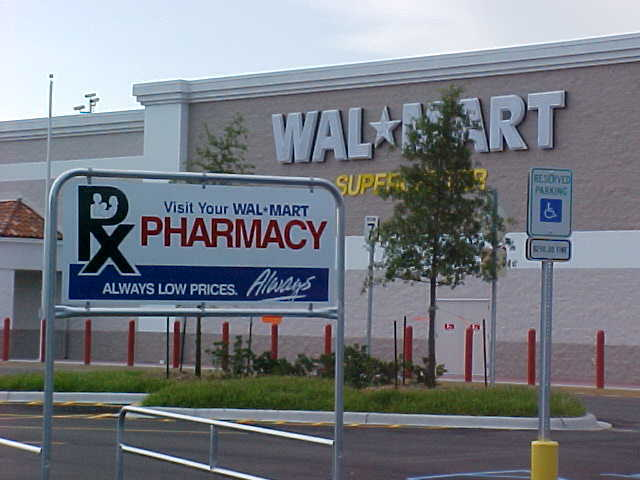 Wal-mart opens new markets