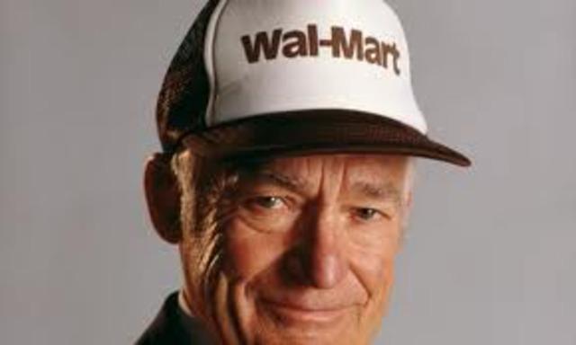 Walton dies
