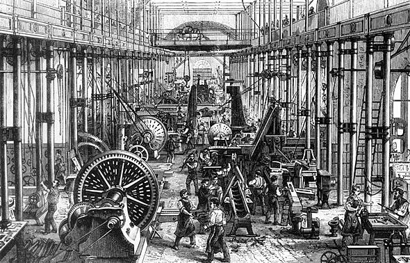 Segundo Humanismo, Era industrial y reconocimiento de oriente S. XIX