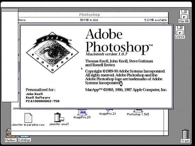 Photoshop (1990)