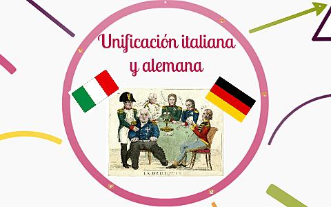 Unificación de Italia y Alemania