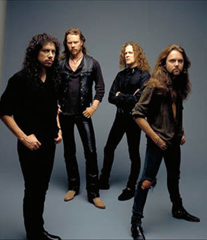 Tour with Metallica began
