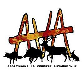 ANIMALISTES - LANOUÉE - ACTION COLLECTIF AVA ANTI  CHASSE A COURRE