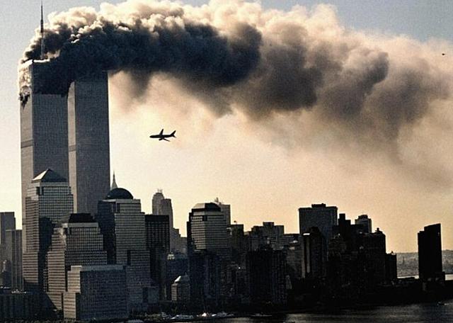 Atentado terrorista contra las torres gemelas.