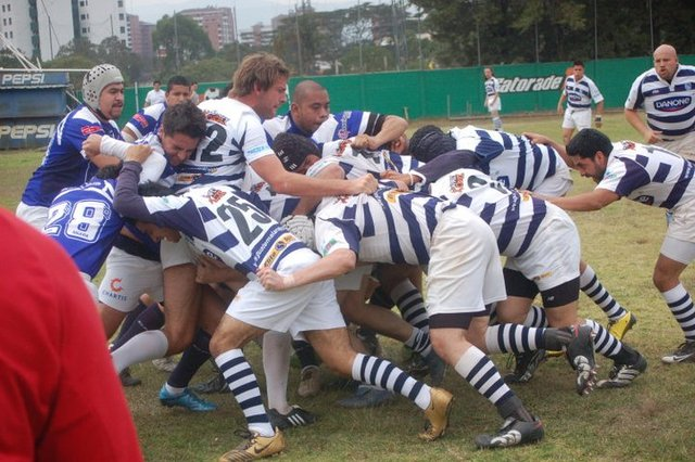 Primer partido Oficial de Rugby