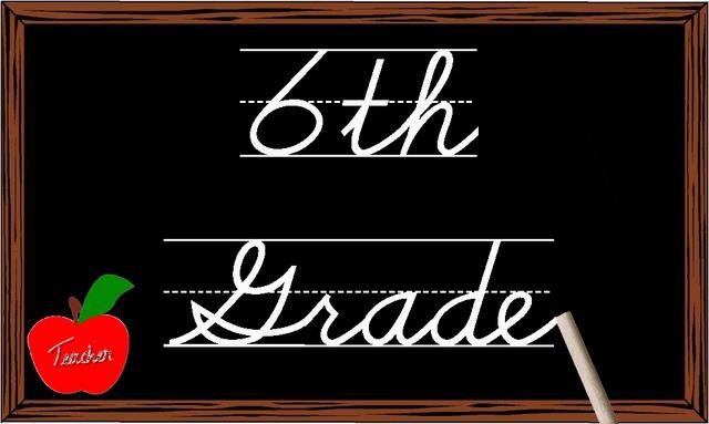 End of sixth Grade