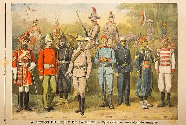 Los primeros colonos britanicos