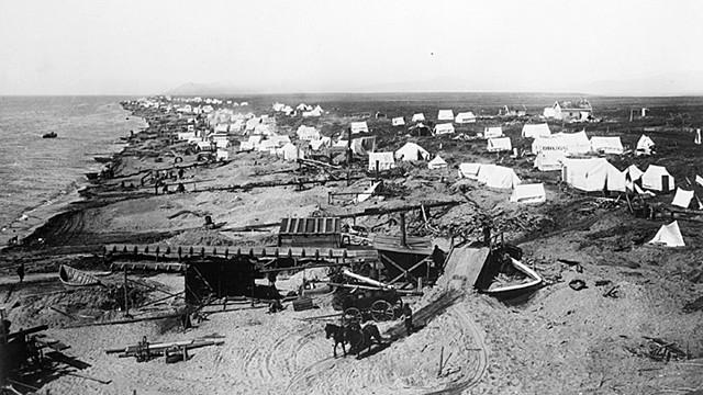 primer asentamiento ruso en Alaska