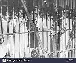imprisonments and punishments towards gandhi and Indian citizens
