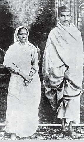 gandhi and his wife were convicted