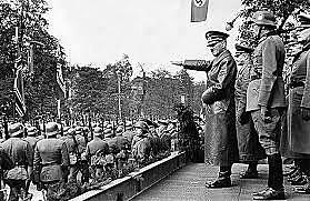 Alemanha põe em prática o plano de invadir a Noruega e a Dinamarca.