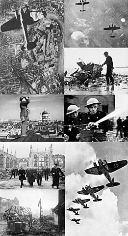 Alemães começam a atacar a cidade de Londres.