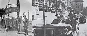 Aliados entram em Roma