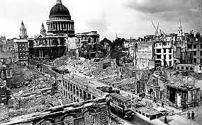 Alemães começam a investida na cidade de Londres
