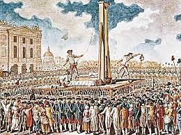 Robespierre ghigliottinato