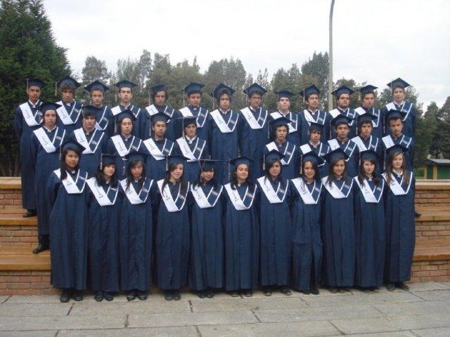 Graduacion Colegio CAFAM