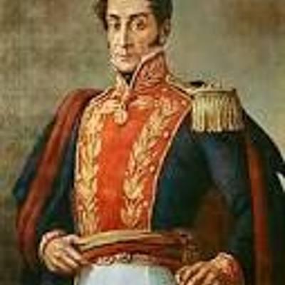 Cronología de Simón Bolivar timeline