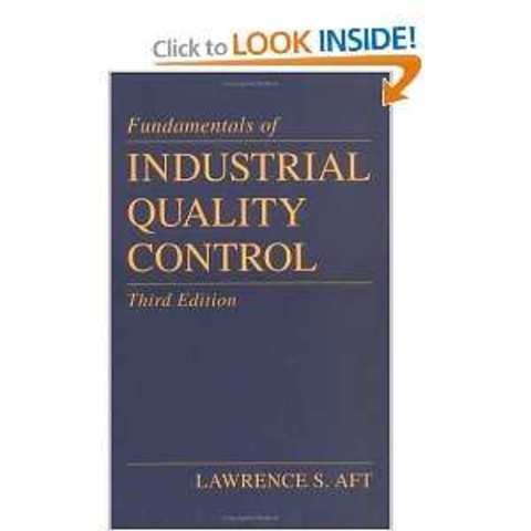 Industrial Quality Control.