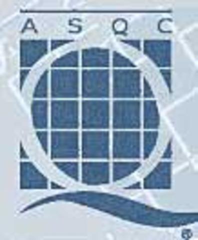 Fundación de la Sociedad Americana de Control de Calidad
