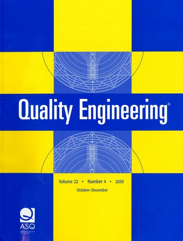 Revista Quality Engineering.