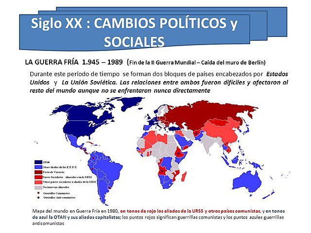 CAMBIOS POLITICOS Y ECONOMICOS EN EL MUNDO