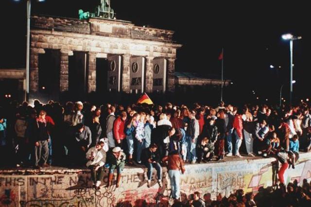 Revolución pacífica en la RDA.