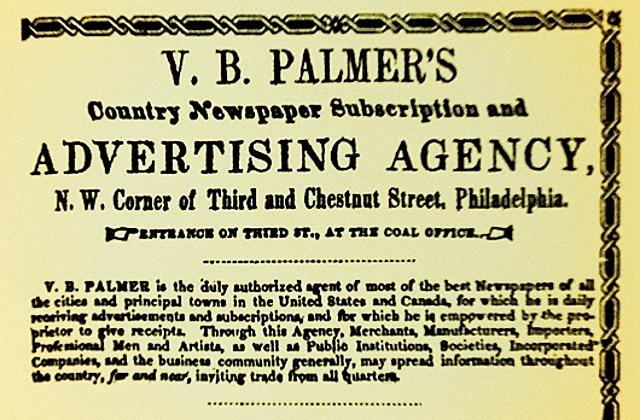 Primera agencia de publicidad en Estados Unidos