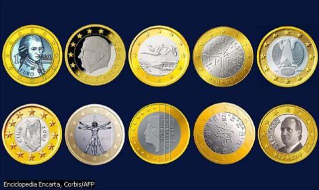Euro Unica Moneda en 12 Estados Europeos