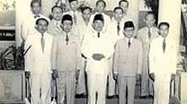 Peristiwa-peristiwa penting pada masa demokrasi Liberal-terpimpin timeline