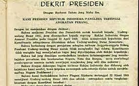 Dekrit Presiden