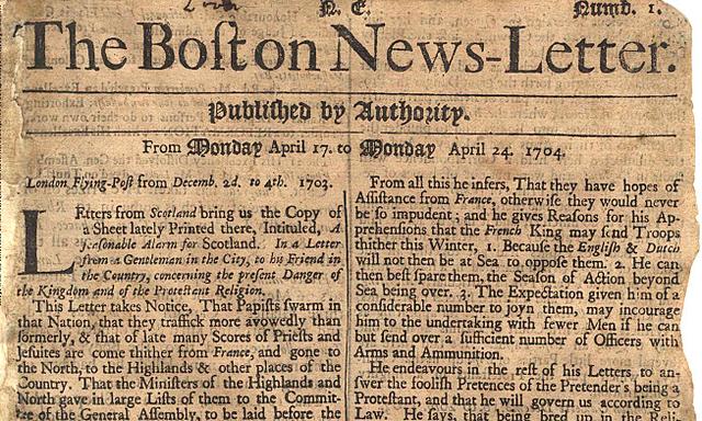 Los primeros anuncios comerciales en el Periodico