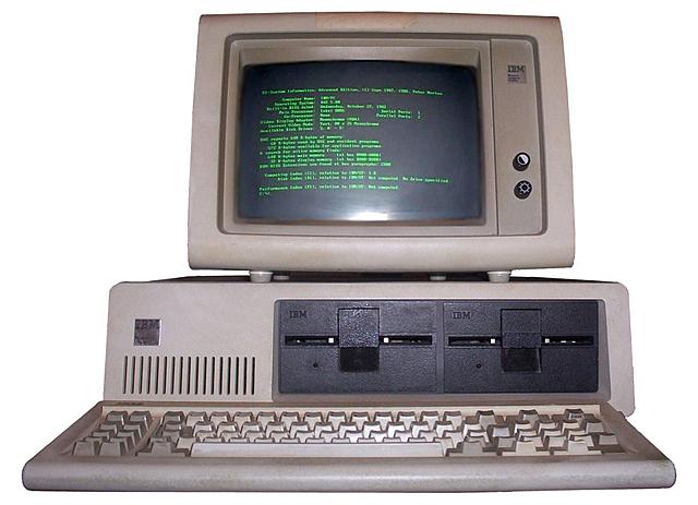 La primera aparición del computador personal