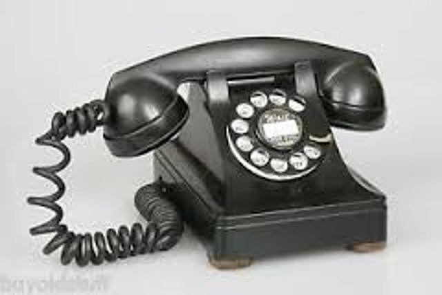La penetración del telefono en los hogares superan el 50% de la población