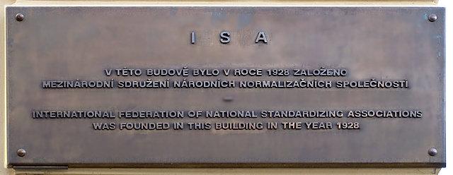 International Federation of the National Standarizing Association, también llamada ISA